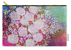 Bouquet Flowers Carry-all Pouch