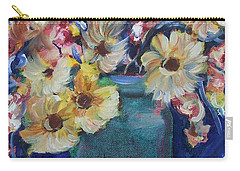 Bouquet Flowers Of Blue  Carry-all Pouch