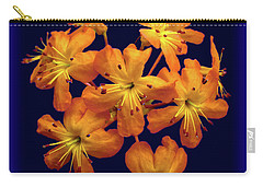 Carry-all Pouch featuring the digital art Bouquet In A Box by Donna Brown