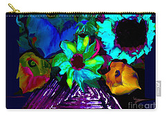 Bouquet In Fauve Carry-all Pouch