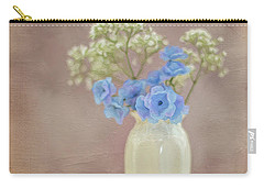 Bouquet Of Blues And Whites Carry-all Pouch
