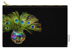 Bouquet Of Peacock Carry-all Pouch