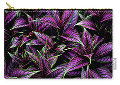 Bouquet Of Persian Shield Carry-all Pouch