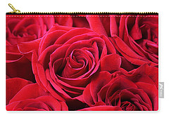 Bouquet Of Red Roses Carry-all Pouch