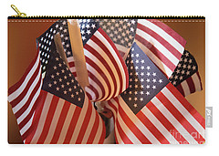 Bouquet Of Us Flags Carry-all Pouch