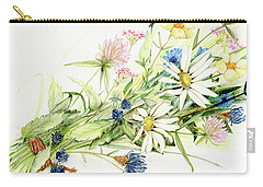 Bouquet Of Wildflowers Carry-all Pouch