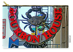 Bourbon House Signage Carry-all Pouch