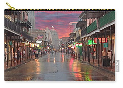 Bourbon Street At Night Carry-all Pouch