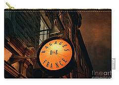 Boutique Sign - Quebec City Carry-all Pouch