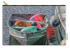 Bouys In A Boat Carry-all Pouch by Mike Martin