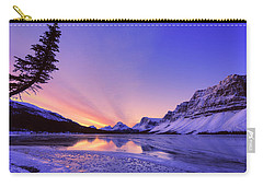 Bow Lake And Pine Carry-all Pouch