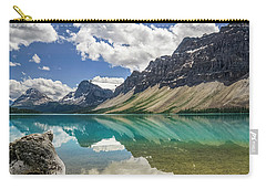Carry-all Pouch featuring the photograph Bow Lake by Christina Lihani
