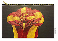 Bow Rose Carry-all Pouch