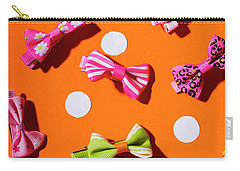 Carry-all Pouch featuring the photograph Bow Tie Party by Jorgo Photography - Wall Art Gallery
