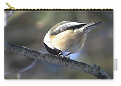 Bowing On A Branch Carry-all Pouch