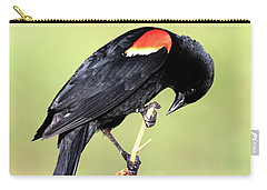 Carry-all Pouch featuring the photograph Bowing by Shane Bechler