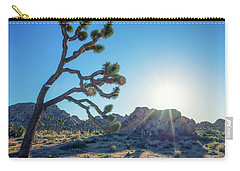 Bowing To The Sun Carry-all Pouch