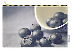 Bowl Of Blueberries Carry-all Pouch by Lyn Randle
