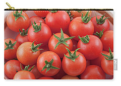 Carry-all Pouch featuring the photograph Bowl Of Cherry Tomatoes by James BO Insogna