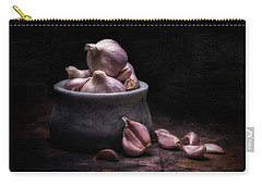 Bowl Of Garlic Carry-all Pouch