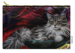 Bowl Of More Fur Carry-all Pouch by John Robert Beck