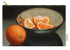 Bowl Of Oranges Carry-all Pouch