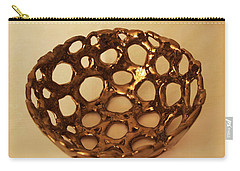Bowle Of Holes Carry-all Pouch by Itzhak Richter