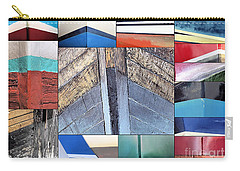 Bows Of Boats Collage  Carry-all Pouch