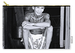 Carry-all Pouch featuring the photograph Box Living by Jez C Self