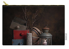 Carry-all Pouch featuring the photograph Boxes And Bowls by Tom Mc Nemar