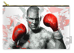 Carry-all Pouch featuring the painting Boxing 114 by Movie Poster Prints