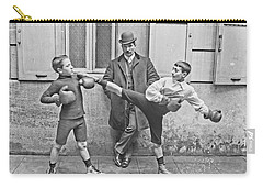 Boxing Under Eyes Of Master, 1904 Carry-all Pouch