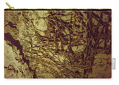 Carry-all Pouch featuring the photograph Boxwork In Wind Caves by Brenda Jacobs