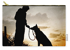 Boy And His Dog Carry-all Pouch
