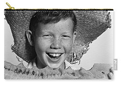 Boy Eating Watermelon, C.1940-50s Carry-all Pouch by H. Armstrong Roberts/ClassicStock