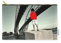 Boy Under Bridge Carry-all Pouch