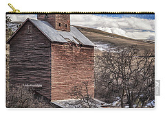 Carry-all Pouch featuring the photograph Boyd Flour Mill by Cat Connor