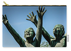 Carry-all Pouch featuring the photograph Boys Rejoice by KG Thienemann