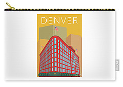 Denver Brown Palace/gold Carry-all Pouch