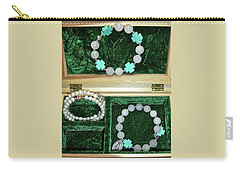 Carry-all Pouch featuring the jewelry Bracelets Of Faith by Michele Myers