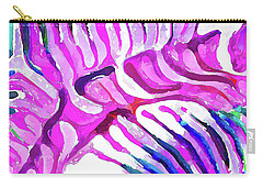 Brain Coral Abstract 7 In Pink Carry-all Pouch