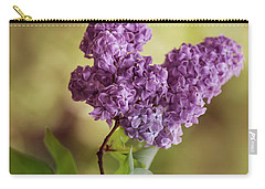 Branch Of Fresh Violet Lilac Carry-all Pouch