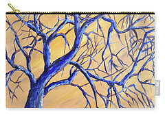 Branches Of Blue Carry-all Pouch