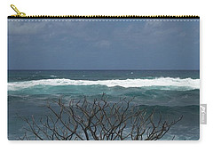 Branches Waves And Sky Carry-all Pouch