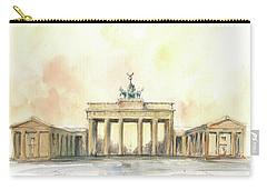 Brandenburger Tor, Berlin Carry-all Pouch by Juan Bosco