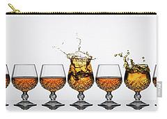 Brandy Glass Splash Carry-all Pouch