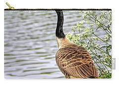 Branta Canadensis  #canadagoose Carry-all Pouch by John Edwards