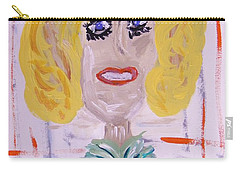 Brash Blond Carry-all Pouch