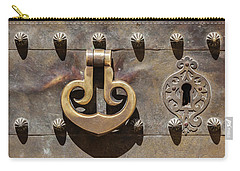Brass Castle Knocker Carry-all Pouch
