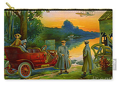 Brave New World 1910 Carry-all Pouch by Padre Art